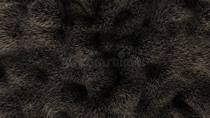 Download Piel del oso de Brown stock de ilustración. Ilustración de textura - 100528209