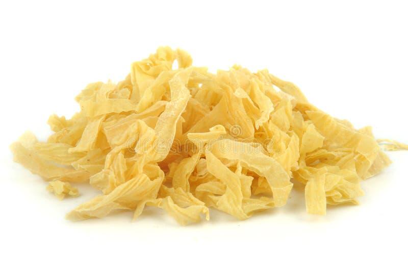Piel del queso de soja imagenes de archivo