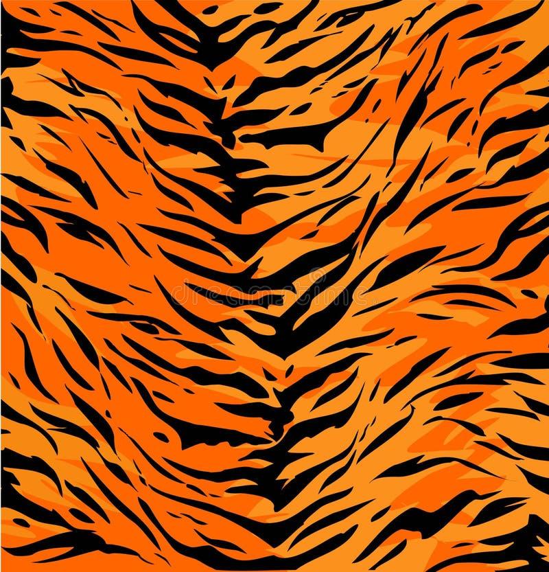 Piel del tigre ilustración del vector