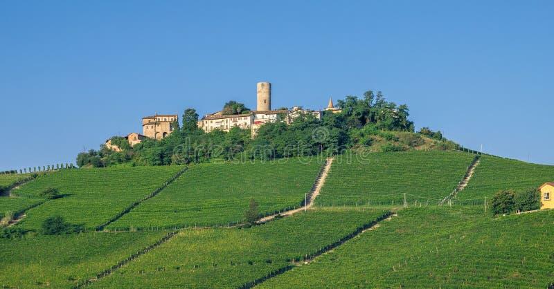 Piemont nahe Asti, Italien lizenzfreie stockfotografie