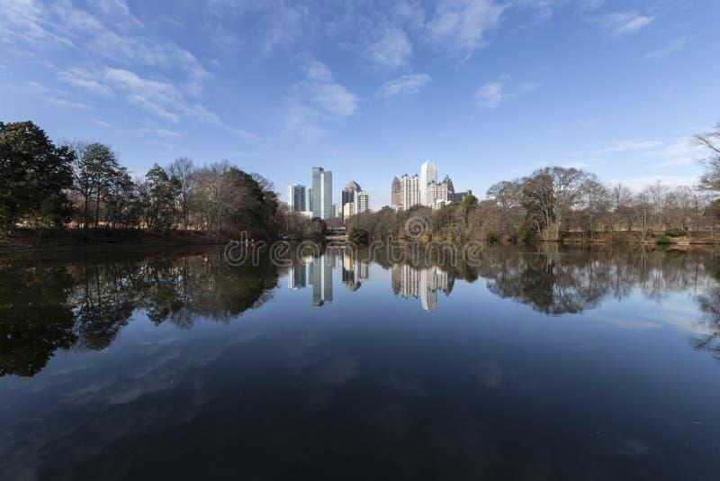 Piemonte-Park Atlanta stock foto