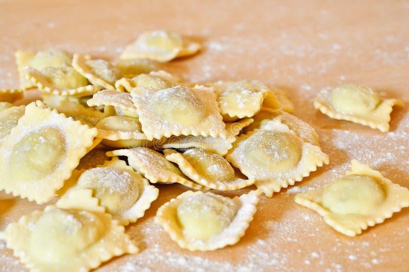 piemontese ravioli för alla arkivbild