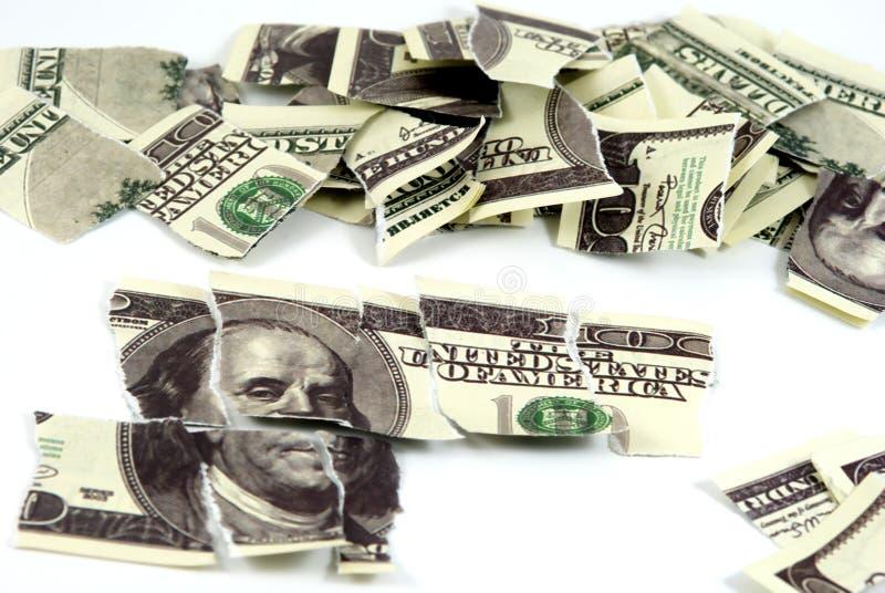 pieniądze łamigłówka zdjęcie stock