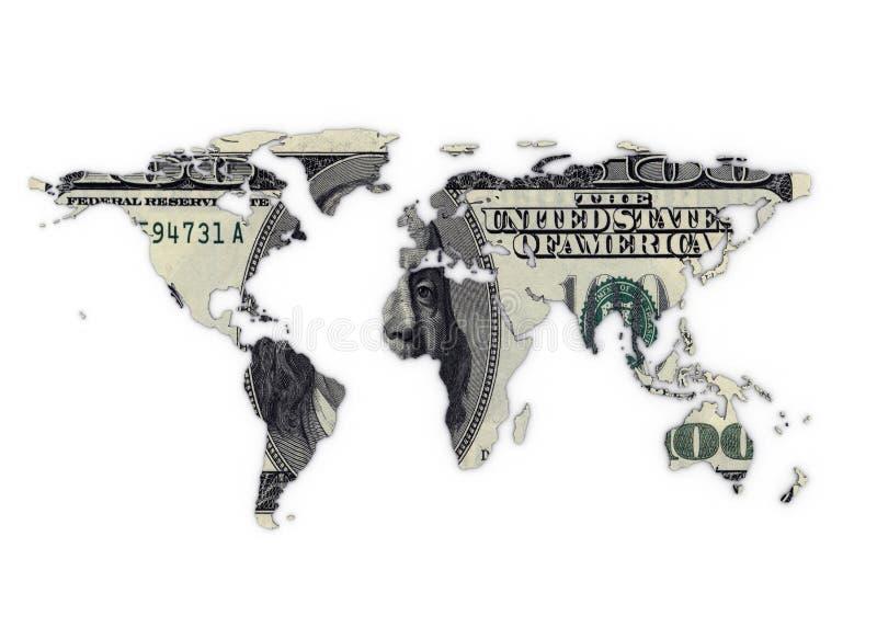 pieniądze świat ilustracja wektor