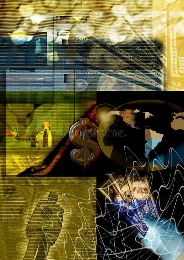 pieniądze abstrakcyjne tło ilustracji
