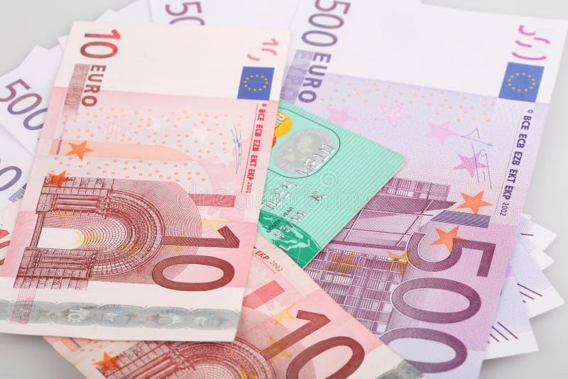pieniądze banknotów euro obrazy stock