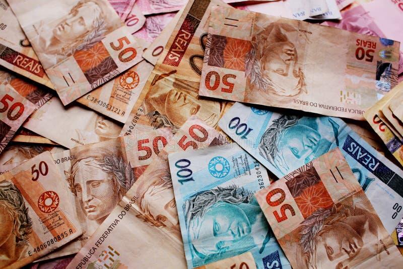 Pieniądze Brazylia obrazy royalty free