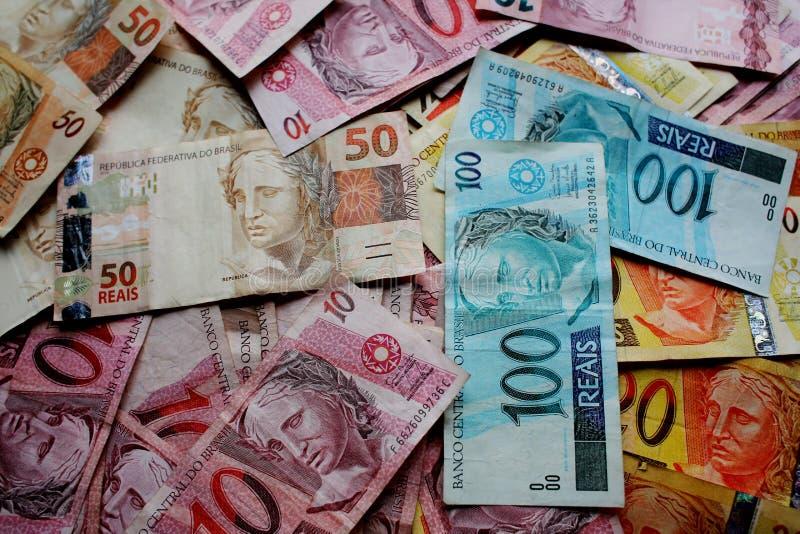 Pieniądze Brazylia zdjęcia stock