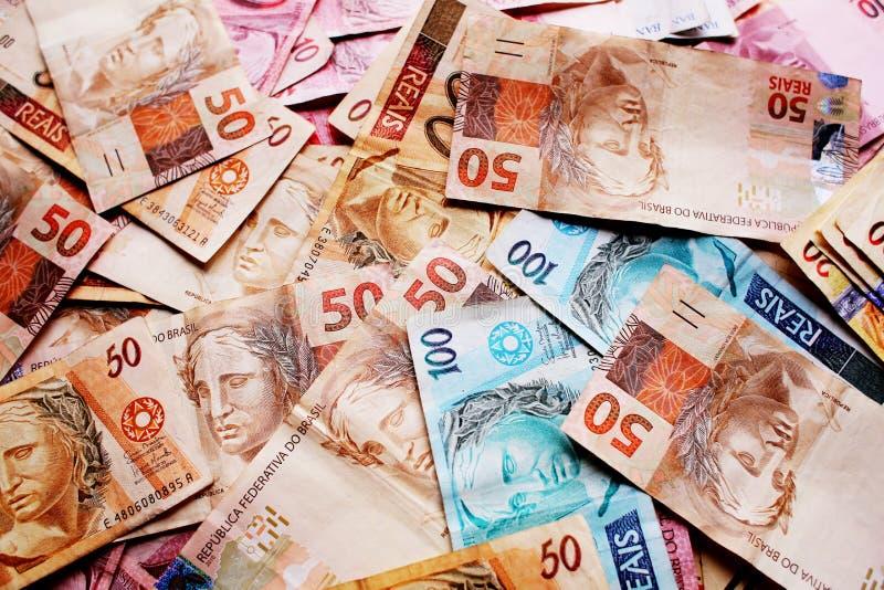 Pieniądze Brazylia zdjęcie royalty free