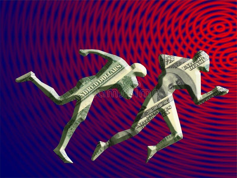 pieniądze dla konkurencji ilustracji