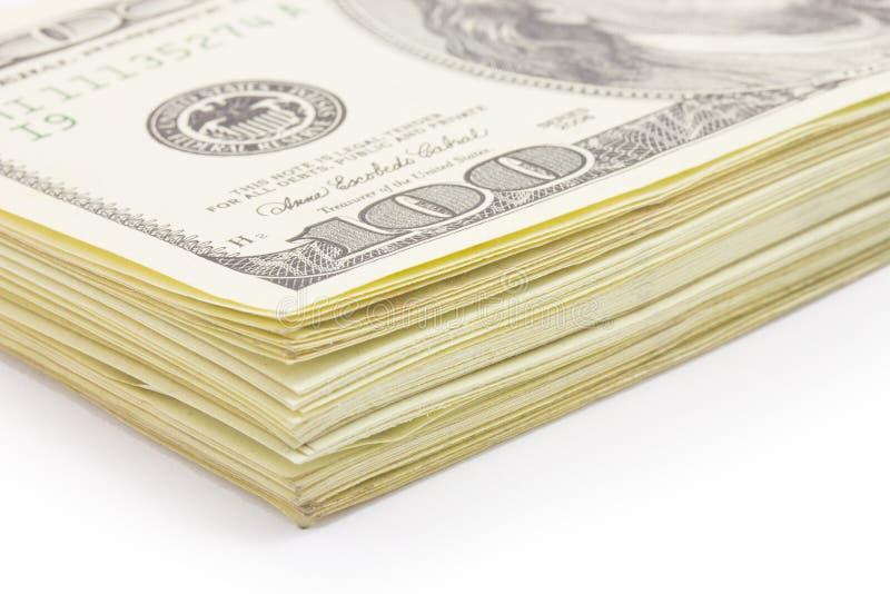 Pieniądze, dolary fotografia stock