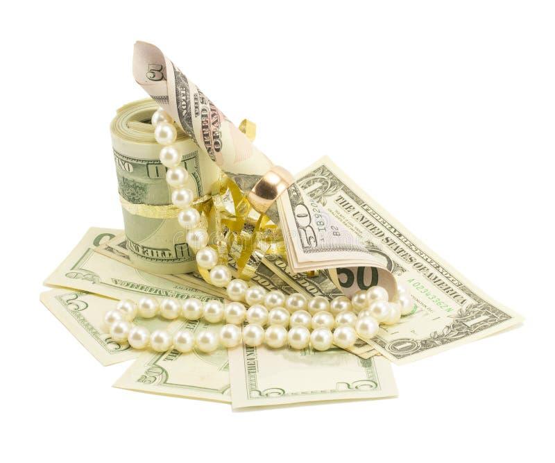 Pieniądze, dolary zdjęcie stock