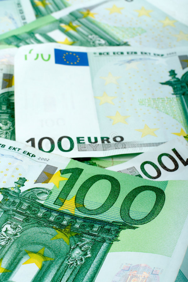 pieniądze euro obrazy stock