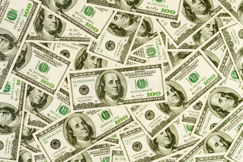 Pieniądze gotówki wzór obrazy royalty free