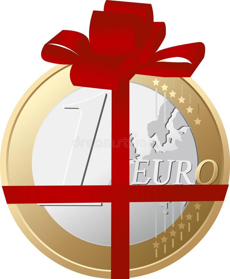 pieniądze jako prezent ilustracja wektor