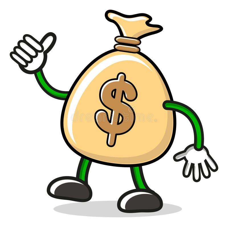 pieniądze mr ilustracja wektor