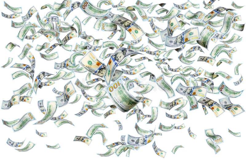 Pieniądze na biało zdjęcie royalty free