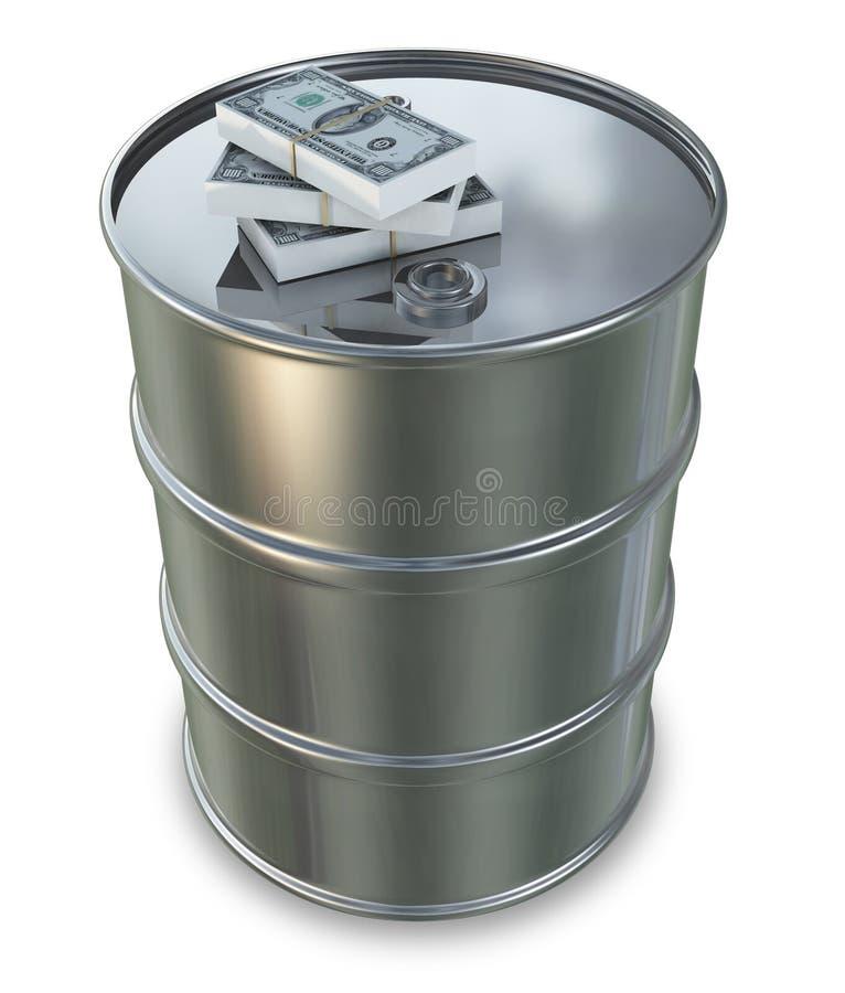 pieniądze olej ilustracji