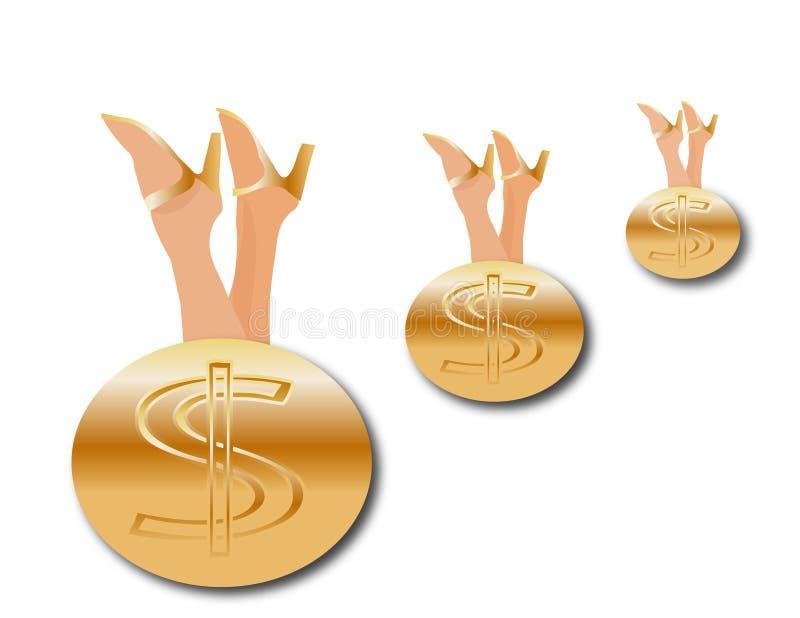 Pieniądze, pieniądze, pieniądze obrazy royalty free