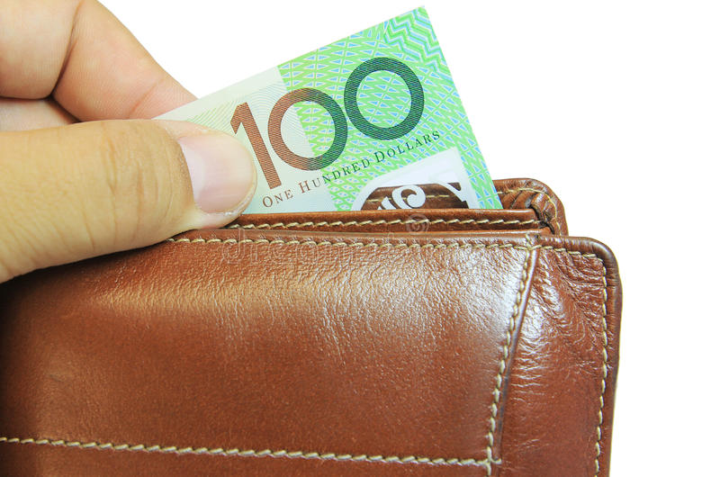 pieniądze portfel zdjęcia royalty free
