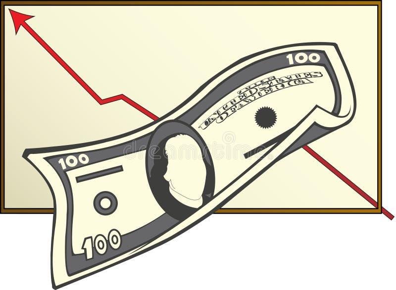 pieniądze przychodu royalty ilustracja