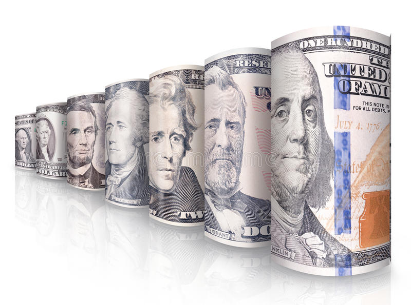 Pieniądze rząd obrazy stock