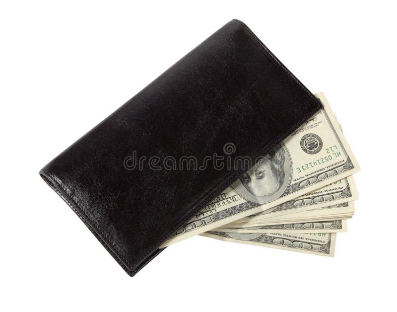 pieniądze rzemienna kiesa obraz royalty free
