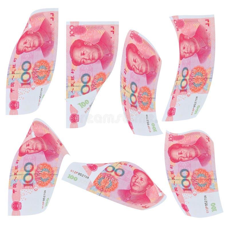 Pieniądze spadek zdjęcie stock