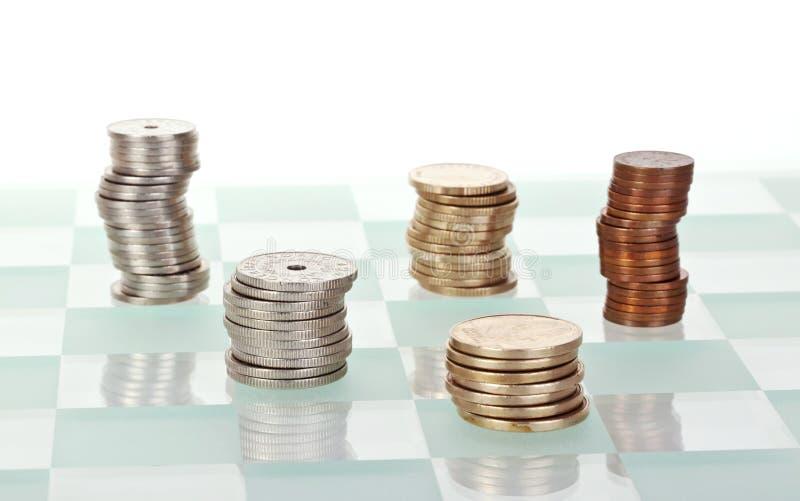 pieniądze strategia zdjęcia stock
