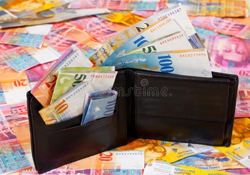 pieniądze szwajcar obraz stock