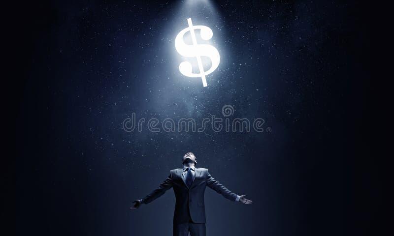 Pieniądze władza zdjęcie stock