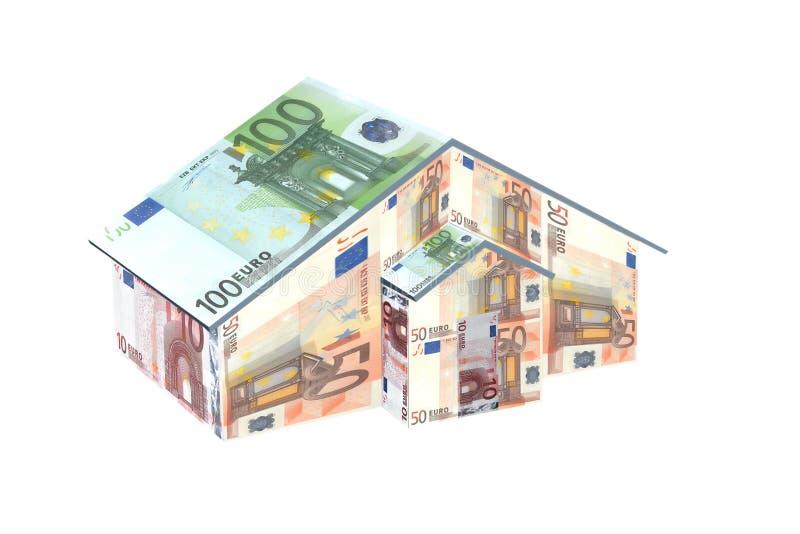 pieniądze w domu obrazy stock