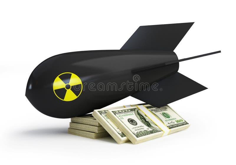 pieniądze wojna ilustracji