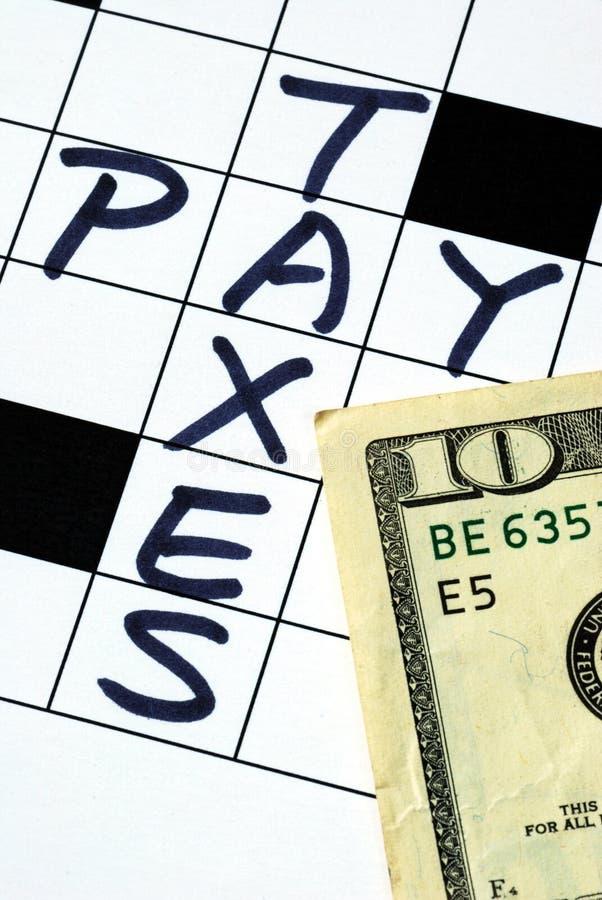 pieniądze wynagrodzenie przygotowywa powrotnego podatek obrazy royalty free