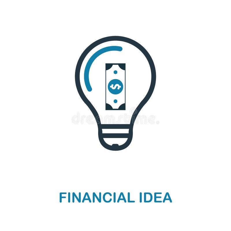 Pieniężna pomysł ikona Prosta element ilustracja Pieniężny piksel doskonalić pomysł ikony projekt od pieniądze kolekcji Używać dl royalty ilustracja