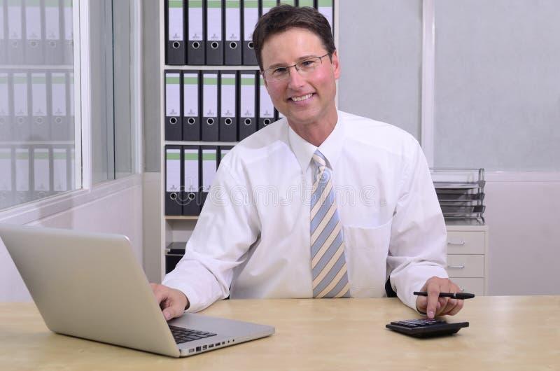pieniężny advisor biuro obrazy stock