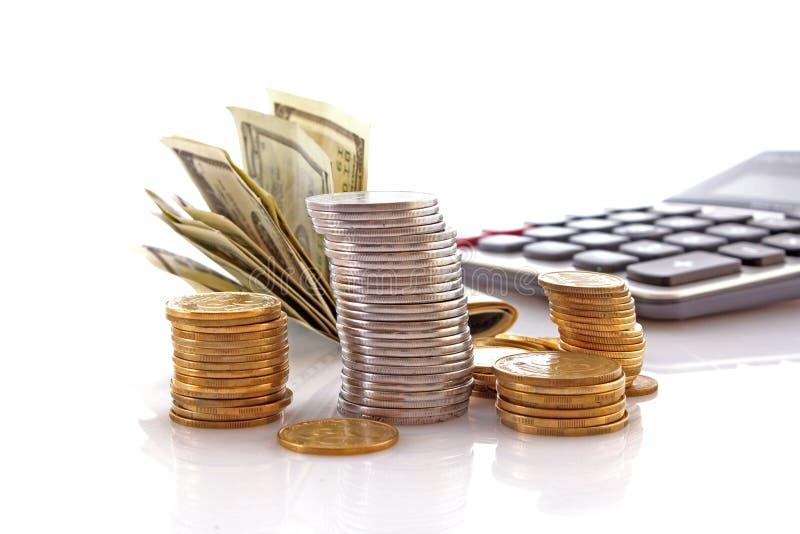 pieniężny przyrost obraz stock