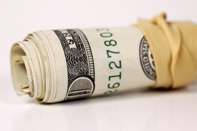 pieniędzy 2 roll zdjęcia stock
