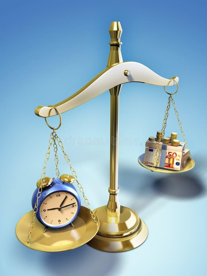 Download Pieniądze czas ilustracji. Obraz złożonej z heavy, bankowość - 20112939