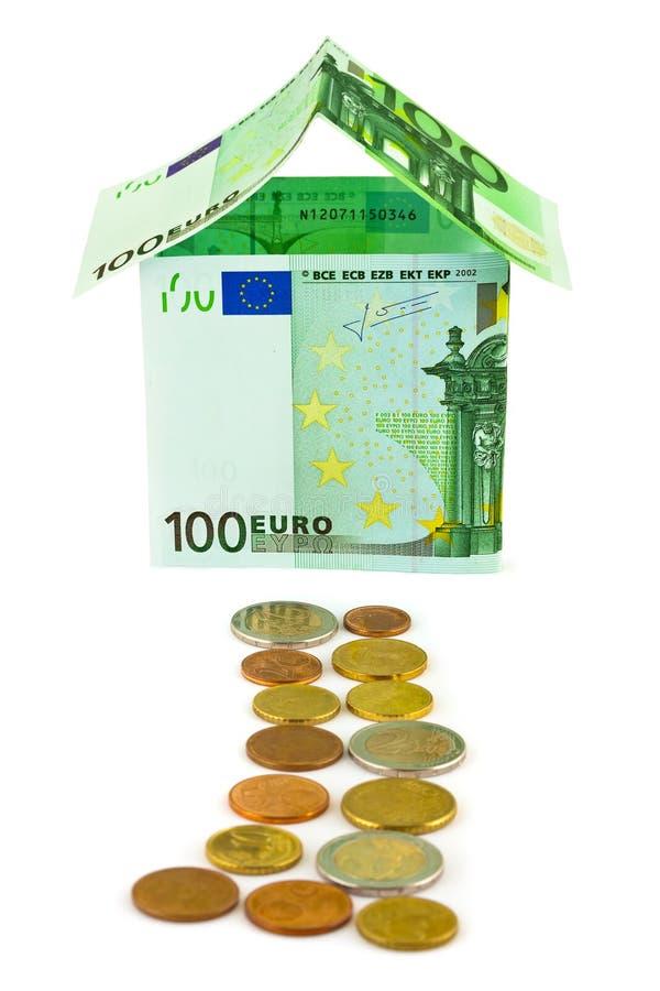 Download Pieniądze dom zdjęcie stock. Obraz złożonej z pożyczka - 28965654