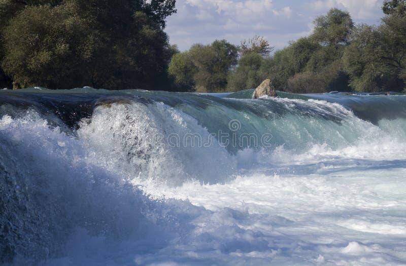 Pieno della cascata di bellezza in Manavgat, Turchia immagine stock libera da diritti