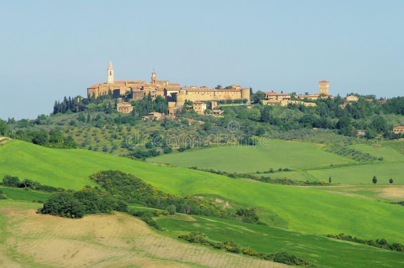 Download Pienza stock image. Image of farmland, skyline, landscape - 14853117
