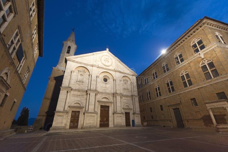 Pienza (Siena) stockfoto