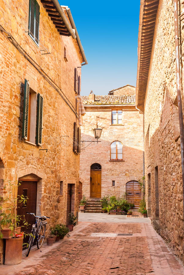 Pienza, Toscânia, Itália imagens de stock royalty free