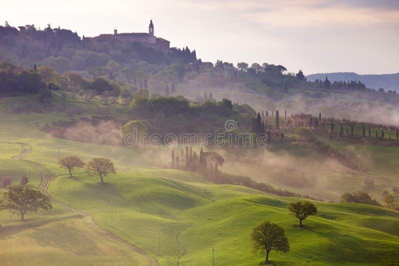 Pienza - Toscânia - Italy fotos de stock royalty free