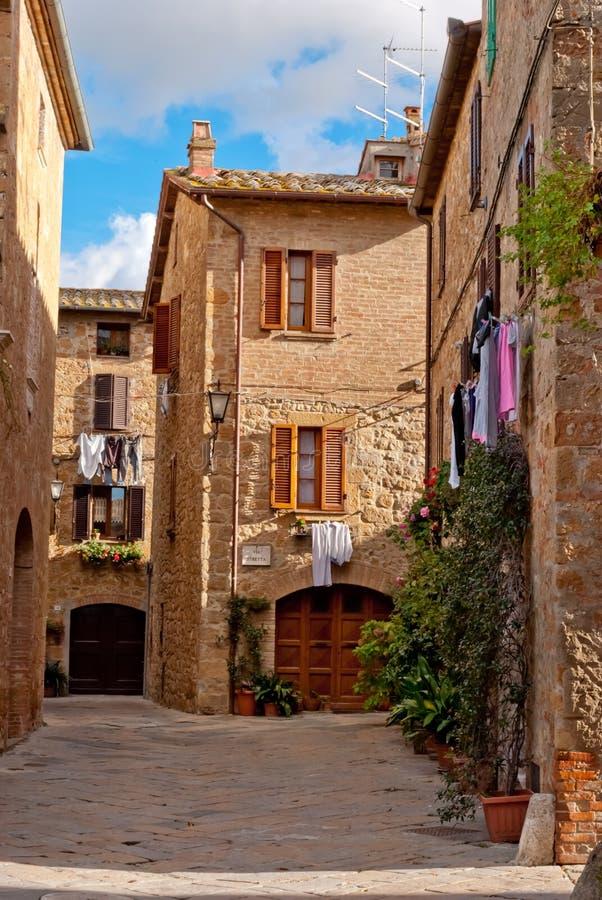 Pienza, Toscânia, Italy foto de stock royalty free