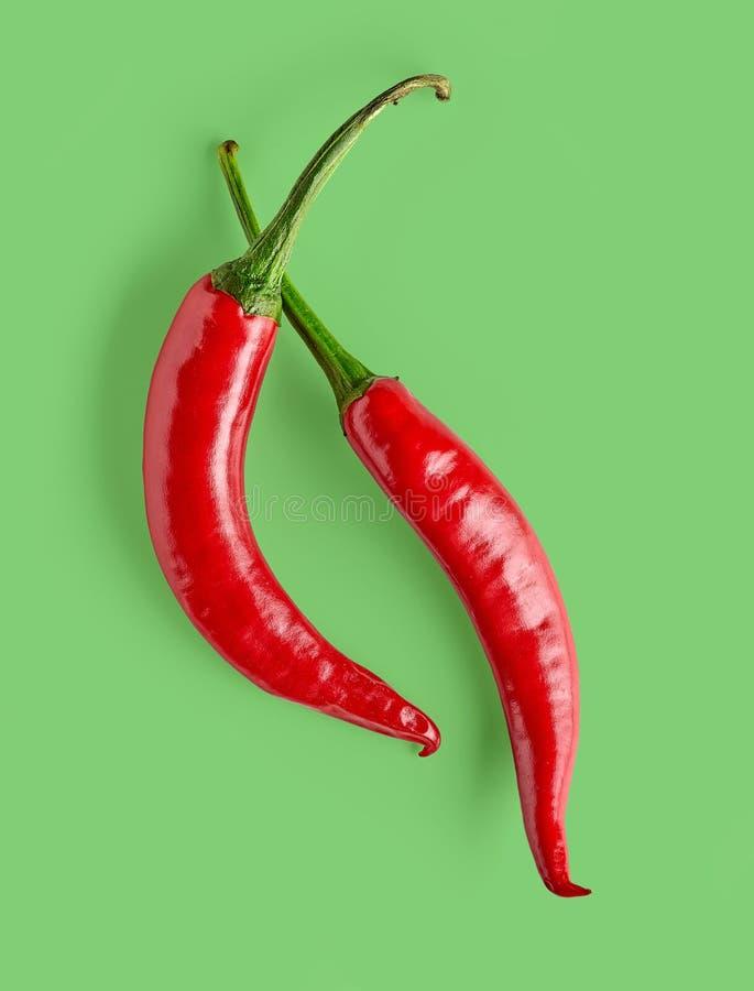 pieprz czerwone gorące chili zdjęcia stock