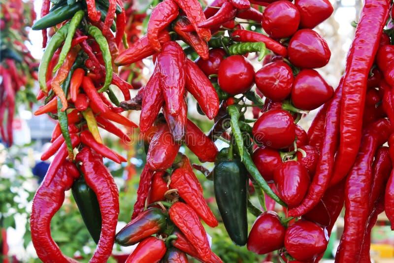 pieprzowy smakowity pomidor zdjęcie royalty free