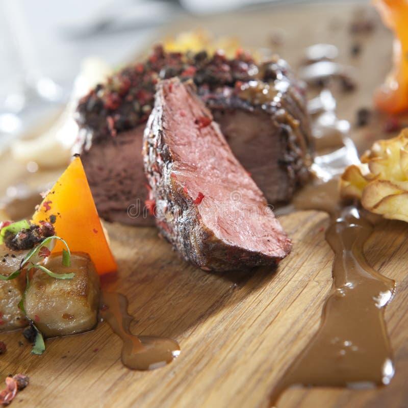 pieprzowy stek zdjęcie royalty free