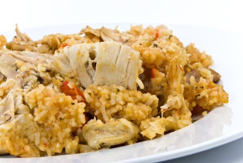 pierś kurczaka risotto zdjęcia royalty free
